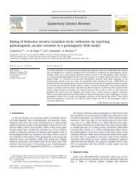 Barletta et al 2010.pdf - Department of Geological Sciences ...