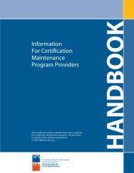 CM Provider Handbook (pdf)