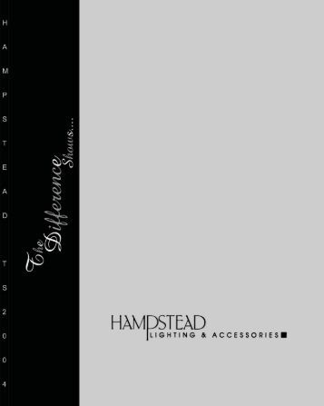 Download this Catalog - Hampstead Lighting