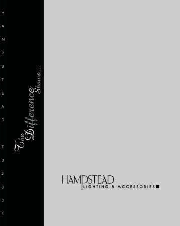 Download this Catalog - Hampstead Lighting