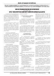 Journal 543_GABARIT.qxd - Ministère de l'économie et des finances