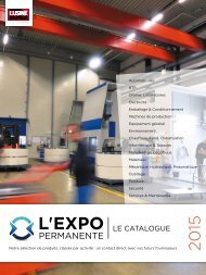Le Catalogue de L'Expo Permanente 2015