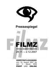Pressespiegel - Filmz