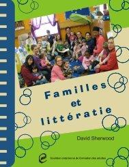 Familles et littératie - Coalition ontarienne de formation des adultes