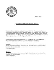 July 10, 2013 PLANNING COMMISSION MEETING MINUTES ...