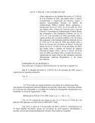 LEI Nº 11.094, DE 13 DE JANEIRO DE 2005 Altera ... - Aneel