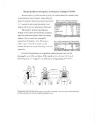 Preliminary Findings: Marine Lethal Torso Injuries