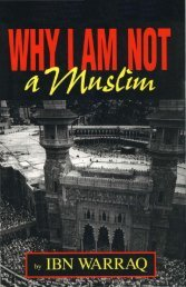 Ibn Warraq - Why I Am Not a Muslim