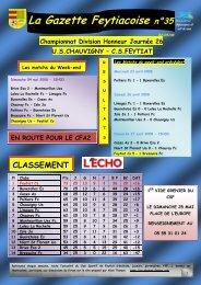 La Gazette Feytiacoise n°35 - Footeo