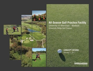 All-Season Golf Practice Facility - Facilities, Planning, & Management