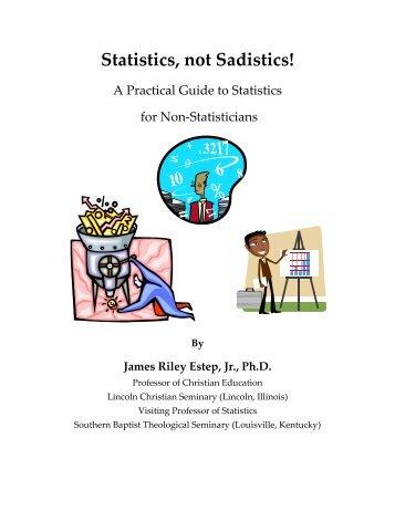 Statistics, not Sadistics! - Journals Â« Biola