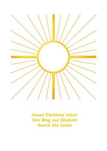 57. Schulung - Liebe-Licht-Kreis Jesu Christi