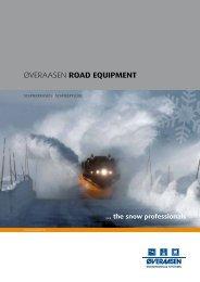 ØvERaaSEN road equipment - Øveraasen AS