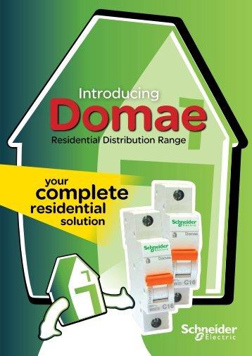 Domae Residential Distribution Range brochure - PDL