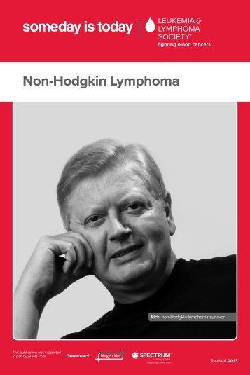 Non-Hodgkin Lymphoma, pdf - The Leukemia & Lymphoma Society