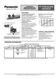 PF PRESSURE SENSOR - Diamond Electronics