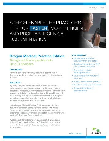 Dragon Medical Practice Edition 2 - Nuance