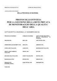 dell'aria - Agenda 21 Locale del Comune di Ravenna