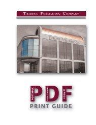 PDF Print Guide - Tribune Publishing Company