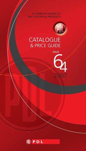 CATALOGUE 2007 - PDL