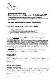 Akademische Verwaltung - Hochschule für Musik, Theater und ...