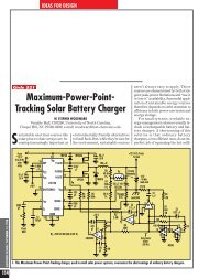 Maximum-Power-Point- Tracking Solar Battery Charger - Otherpower