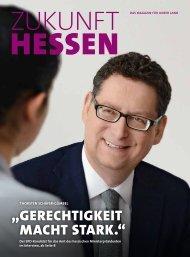 """""""GERECHTIGKEIT MACHT STARK."""" - SPD Hessen"""