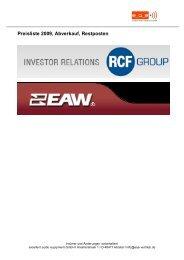 Preisliste Restposten RCF-EAW Commercial.pdf - Excellent audio ...