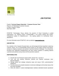 Technical Support - Kingston Canada - Live & Work