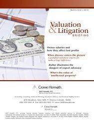 2012 March - April Briefing - Crowe Horwath International