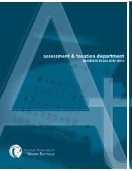 assessment & taxation department - Regional Municipality of Wood ...