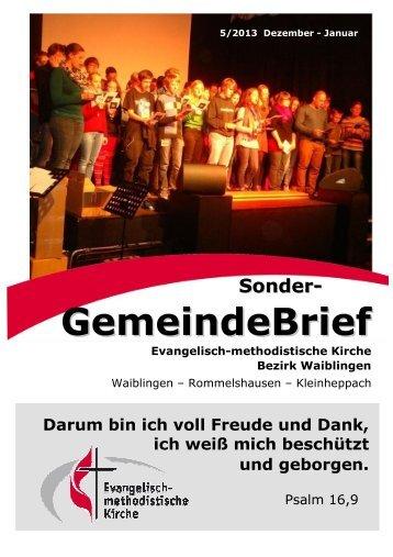 GemeindeBrief - Emk-waiblingen.de