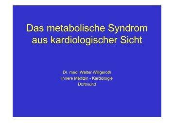 Das metabolische Syndrom aus kardiologischer ... - Ww-kardio-do.de