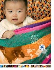 Annual report 20093.08 Mb pdf - Fondation Mérieux