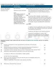Annexed Schedule - University Grants Commission - Sri Lanka