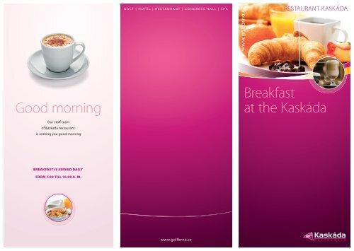 Breakfast - Kaskáda