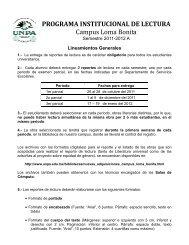 Lineamientos - UNPA