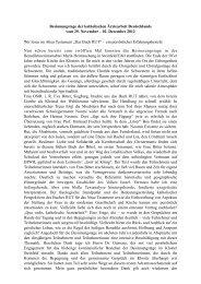 Bericht - Katholische Ärztearbeit Deutschlands eV