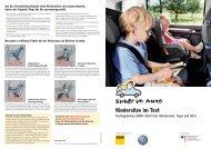 Kindersitze im Test - Sicher im Auto