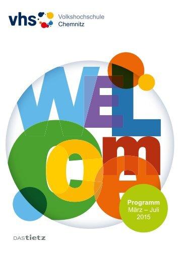 Programm März – Juli 2015