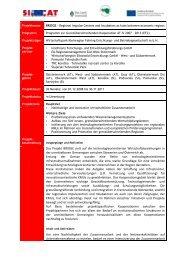 Projektdatenblatt - Raumplanung Steiermark