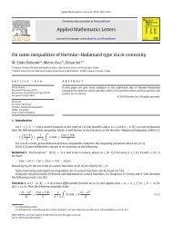 On some inequalities of Hermite–Hadamard type via m-convexity