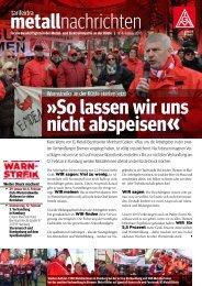 metallnachrichten Nr. 4