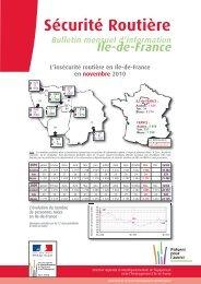 Baromètre de novembre 2010 - Driea