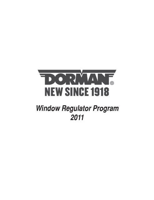 Dorman 740-359 Lexus//Toyota Front Passenger Side Power Window Regulator