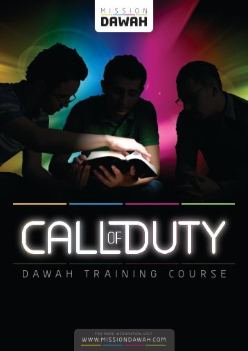 Mission-Dawah-Call-of-Duty-Notes