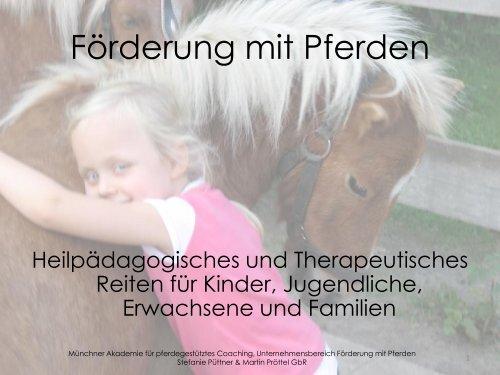 Förderung mit Pferden - Foerderung mit Pferden