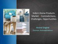 India's Home Products Market – Contradictions ... - Technopak