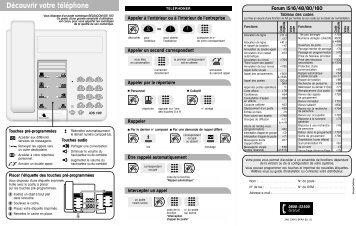 Quick Guide IDS 100 fr.* - Belgacom