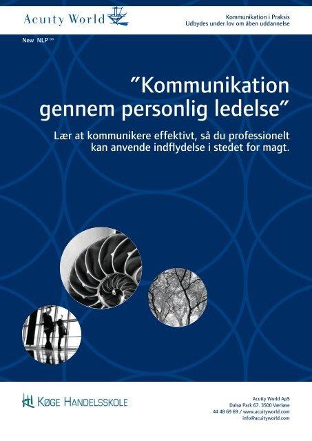 """Kommunikation gennem personlig ledelse"""" - CA a-kasse"""